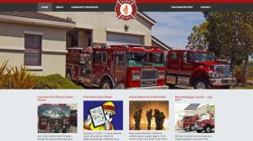 city, municipal, fire, police, sheriff, web, website, design