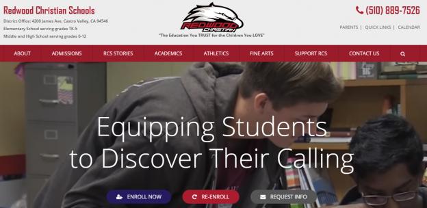 private school web design